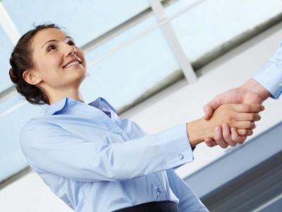 Geschäftspartner kennenlernen