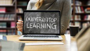 Laptop für Erfolgreiche Frauen, Never stop learning