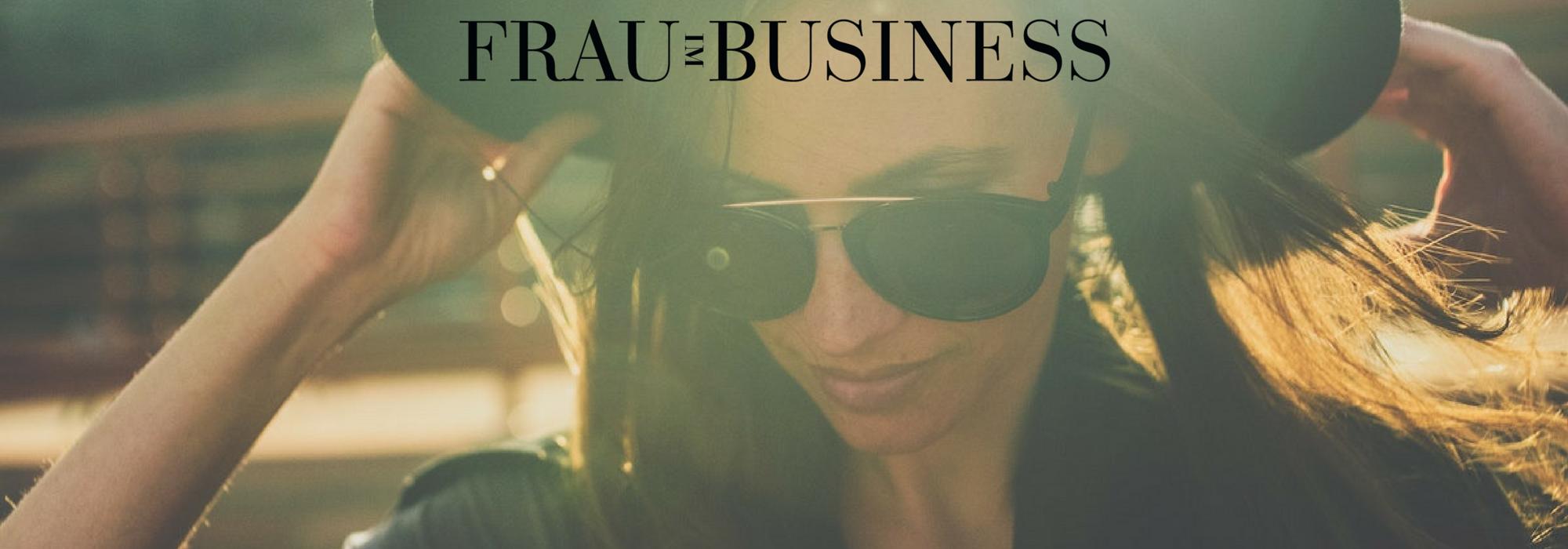 Frau im Business